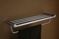 Półka na ręczniki z relingiem  <br/>  DOR-97012