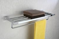 Półka na ręczniki z relingiem  <br/>  PAN-86012