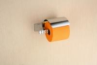 Uchwyt na papier toaletowy z klapką  <br/>  PAN-86062