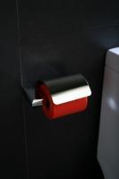 Uchwyt na papier toaletowy z klapką  <br/>  ROK-87062